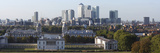 Canary Wharf from Greenwich Park  London  2009