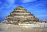 Step Pyramid of King Djoser (Zozer)  Saqqara  Egypt  3rd Dynasty  C2600 Bc
