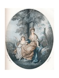 Lady Rushout and Her Daughter  1784  (1902)