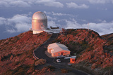 Nordic Optical Telescope  La Palma  Canary Islands  Spain  2009