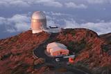 Nordic Optical Telescope  La Palma  Canary Islands  Spain  2009