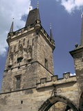 Charles Bridge Tower  Prague  Czech Republic