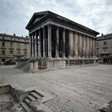 Maison Carree Roman Temple  1st Century Bc