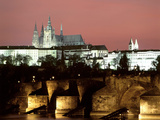 Prague Castle and St Vitus Cathedral  Czech Republic