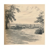 Greenwich Palace from Observatory Hill  1902
