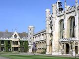 Inside the Great Court  Trinity College  Cambridge  Cambridgeshire