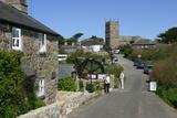 Zennor  Cornwall  England