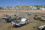 St Ives Harbour at Low Tide  Cornwall