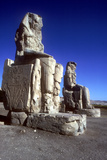Closeup of the Colossi of Memnon  Luxor West Bank  Egypt  C1400 Bc