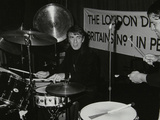 Drummers Kenny Clare Les Demerle  London 1979