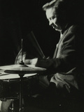 Mel Torme on the Drums at the Bristol Hippodrome  1950S