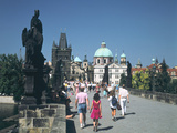 The Charles Bridge  Prague  Czech Republic