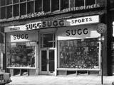 Sugg Sports  King Street Branch  Nottingham  Nottinghamshire  1960