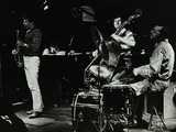 The Daryl Runswick Quartet in Concert at the Stables  Wavendon  Buckinghamshire  1981