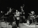The Jj Johnson Quintet Performing at the Hertfordshire Jazz Festival  St Albans Arena  4 May 1993