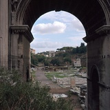 The Roman Forum and Arch of Septimus Severus  3rd Century