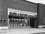 Globe and Simpson Shop Window  Nottingham  Nottinghamshire  1961
