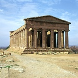 The Temple of Concord on Sicily  5th Century