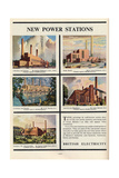 New Power Stations  Advert for British Electricity  1951