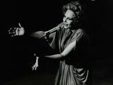 Marion Montgomery Singing at the Forum Theatre  Hatfield  Hertfordshire  17 March 1979