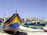 Marsaxlokk Harbour  Malta