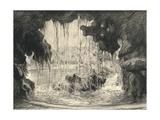 The Grand Cascade  Bois De Boulogne  1915