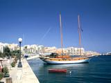 Waterfront of Sliema  Malta