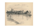 Windsor Castle from the River  1902