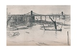 Old Hungerford Bridge  1861  (1903)