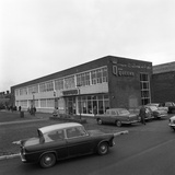 A Ford Anglia Outside Asda (Queens) Supermarket  Rotherham  South Yorkshire  1969