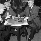 A Game of Dominoes in a Miners Welfare Club  Horden  County Durham  1963