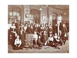 Girls Sports Club Members  Cromer Street School/Argyle School  St Pancras  London  1906