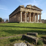 The So-Called Temple of Neptune at Paestum  5th Century Bc