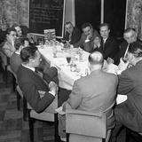 Marketing Strategy Meeting  Danish Bacon Company  Wilsic  Near Doncaster  South Yorkshire  1961