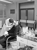 Health Check in the Medical Room  Park Gate Iron and Steel Co  Rotherham  South Yorkshire  1964