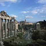 View of the Roman Forum  5th Century Bc