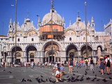 St Marks Square and Basilica  Venice  Italy