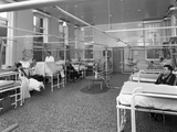 Patients on a Mens Surgical Ward  Montague Hospital  Mexborough  South Yorkshire  1968