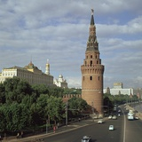 The Kremlin from the South West  15th Century