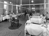 Patients on a Womens Surgical Ward  Montague Hospital  Mexborough  South Yorkshire  1968