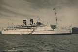 British Passenger Ship Ss Arandora Star of the Blue Star Line  1936