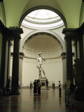 Statue of David  Accademia Gallery  Florence  Italy