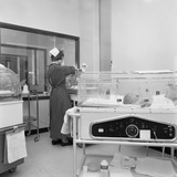 Special Care Unit for Premature Babies  Nether Edge Hospital  Sheffield  South Yorkshire  1969