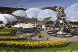Eden Project  Near St Austell  Cornwall
