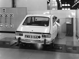 Renault 16 Tl Automatic on a Laycock Brake Testing Machine  Sheffield  1972