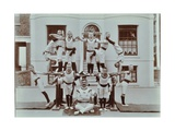 Gymnastics Display at the Boys Home Industrial School  London  1900
