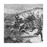 Charge of the Scots at the Battle of Homildon Hill  Northumberland  1402