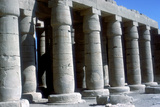 The Ramesseum  Temple of Rameses Ii  Luxor  Egypt