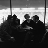 Group of Friends on a Night Out at Silver Blades Bowling Alley  Sheffield  South Yorkshire  1964