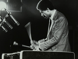 Bobby Hutcherson Playing the Vibraphone at the Bracknell Jazz Festival  Berkshire  1983